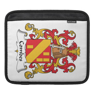 Combes Family Crest Sleeves For iPads