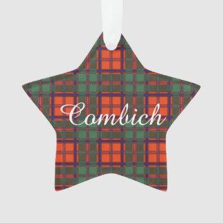 Combich clan Plaid Scottish kilt tartan