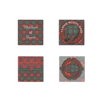 Combie clan Plaid Scottish kilt tartan Stone Magnet