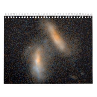 Combinación de galaxias -- 2,4 Mil millones años l Calendario