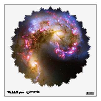 Combinación de galaxias de las antenas