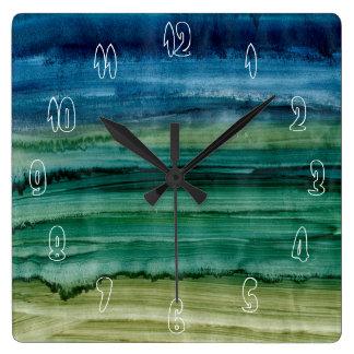 Combinación de IV Reloj Cuadrado
