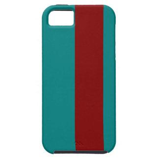 Combinación/mezcla bicolores complementarias iPhone 5 funda