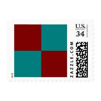 Combinación/mezcla bicolores complementarias sellos