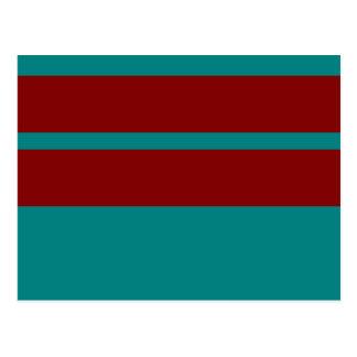 Combinación/mezcla bicolores complementarias tarjeta postal