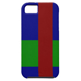 Combinación tricolor de la paleta - mezcla armonio iPhone 5 Case-Mate protectores