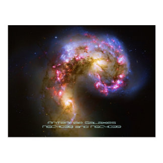 Combinando las galaxias - las galaxias de las postal