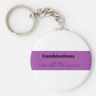 combinations keychain