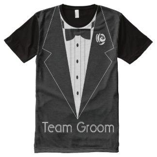 Combine al novio, camiseta que fuma, camiseta del