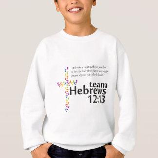 Combine el 12:13 de los hebreos para el paseo su sudadera