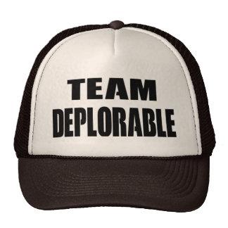 """""""COMBINE"""" el gorra DEPLORABLE para usted y los"""