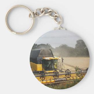Combine harvester keychain