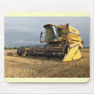 Combine Harvester Mouse Pad