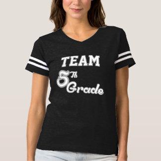 Combine la 5ta camiseta del grado polera