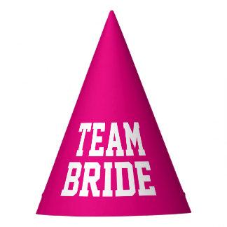 COMBINE los gorras rosados de neón del banquete de Gorro De Fiesta