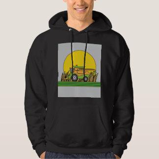 Combine Tractor Retro Hoodie