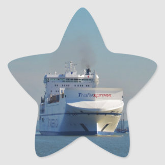 Combined Ferry And Container Ship Stickers