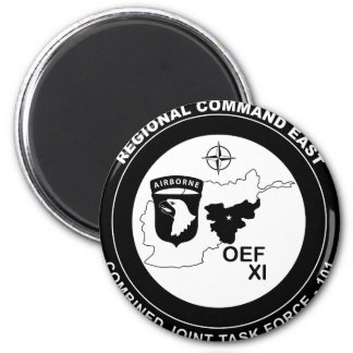 Combined Joint Task Force 101 East - B W Refrigerator Magnet