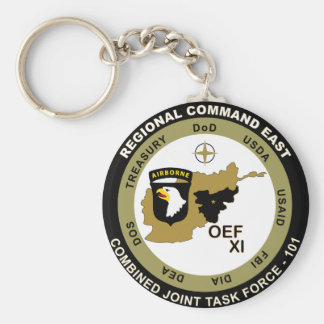 Combined Joint Task Force - Regional Command East Keychain