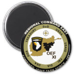 Combined Joint Task Force - Regional Command East Refrigerator Magnets