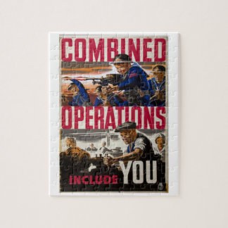 Combined operations - include_Propaganda Poster Jigsaw Puzzle