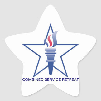 Combined Service Retreat Stickers