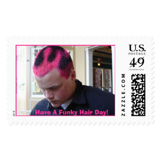 combo all 035, Have A Funky Hair Day! Postage