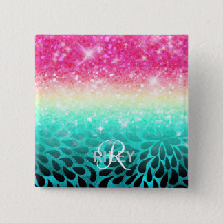 Combo Glitter Gradient to Petals ID433 Button