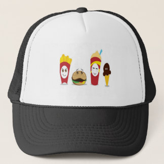 Combo meal design trucker hat