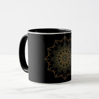 Combo Mug Golden Black Design