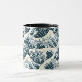 Combo Mug - Hokusai's The Wave