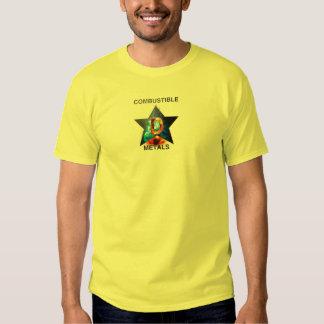 Combustable Metals T-shirt