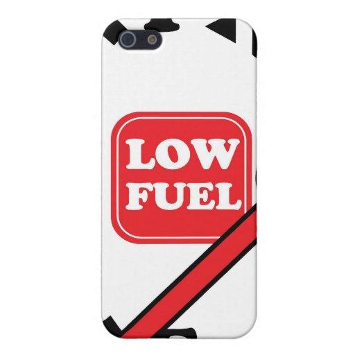 combustible bajo iPhone 5 funda