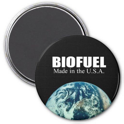 Combustible biológico - hecho en los E.E.U.U. Imán Redondo 7 Cm