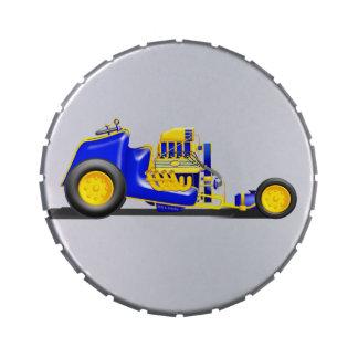 Combustible/carro alterado frascos de caramelos