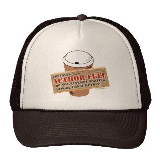 Combustible del autor gorras