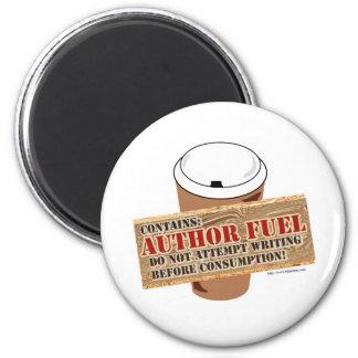 Combustible del autor imán redondo 5 cm