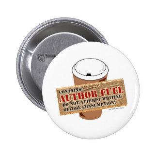 Combustible del autor pin redondo de 2 pulgadas