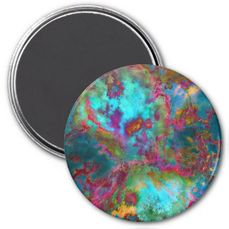 """""""Combustion"""" Abstract Art Magnet"""