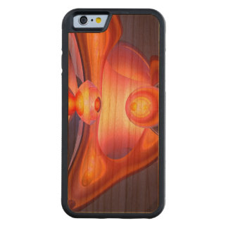 Combustion Abstract Carved Cherry iPhone 6 Bumper Case