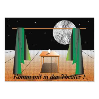 Come also into the theatre! card