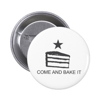 Come and Bake It Items 2 Inch Round Button