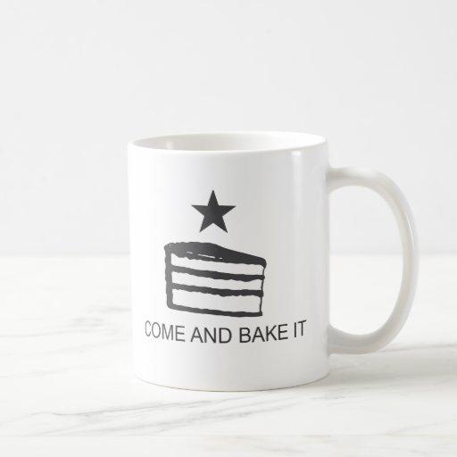 Come and Bake It Items Classic White Coffee Mug