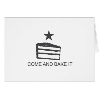 Come and Bake It Items Greeting Card