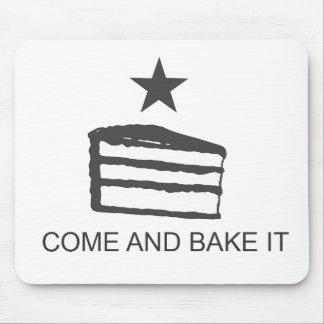 Come and Bake It Items Mouse Pad