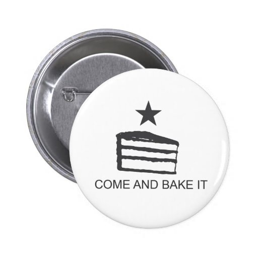 Come and Bake It Items Pinback Button