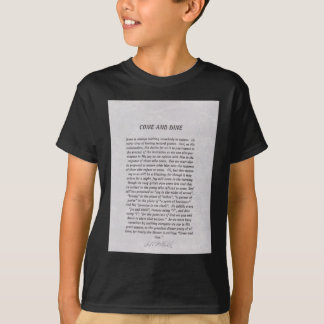 Come And Dine Products T-Shirt