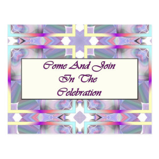 Come And Join In The Celebration Postcard