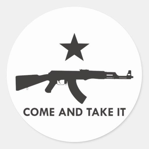 Come and take it! (AK47) Sticker