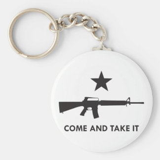 Come and take it! (AR15) Key Chain